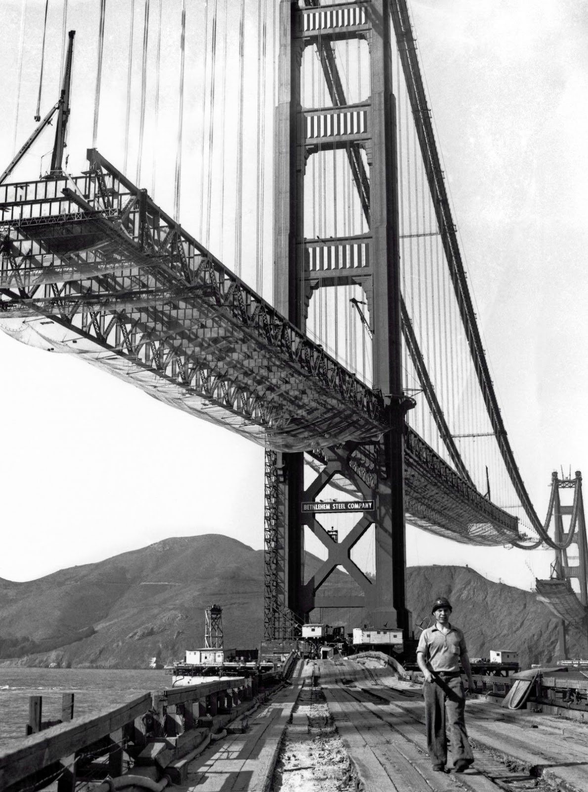 Amazing Photographs Of The Construction Of The Golden Gate