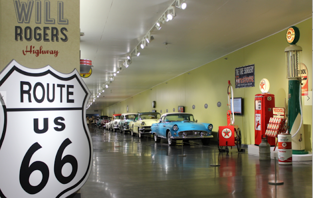 Route 66 collection at LeMay