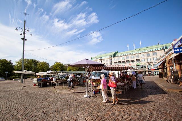 Esterno del Saluhallen (mercato)-Goteborg