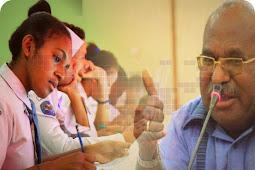 Lukas Enembe Berharap UN SMA dan MA Berjalan Lancar