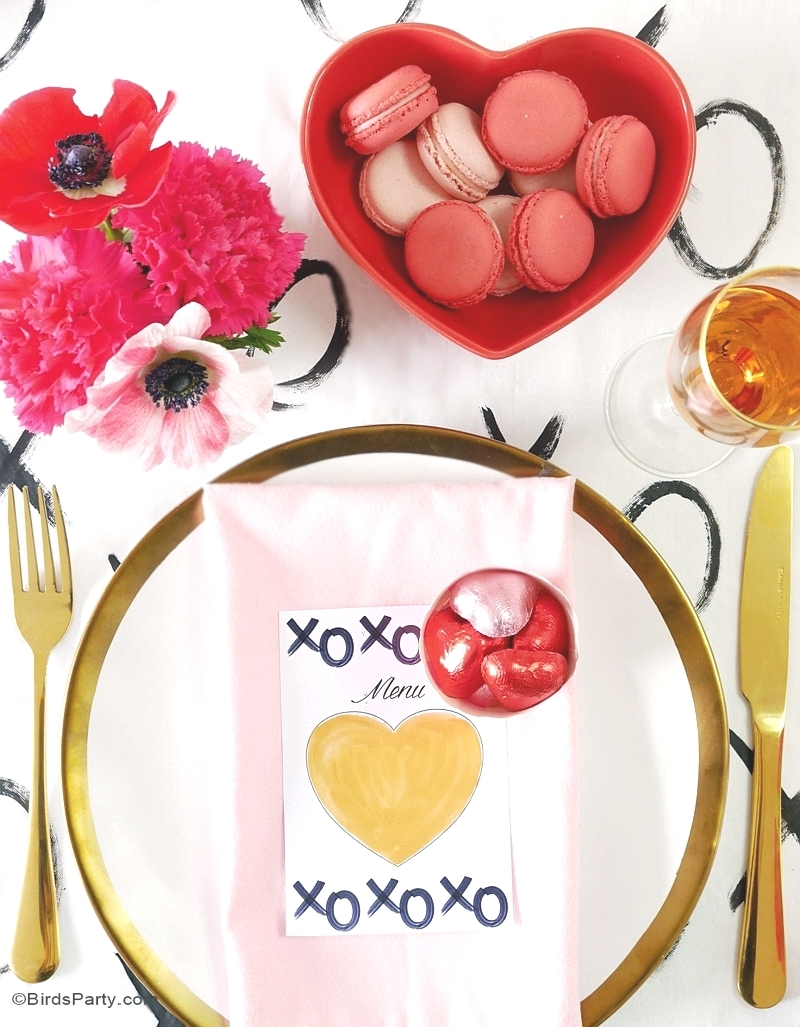 A Modern Valentine S Day Dinner Party Party Ideas Party