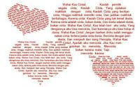 Cara Membuat Tulisan Membentuk Love