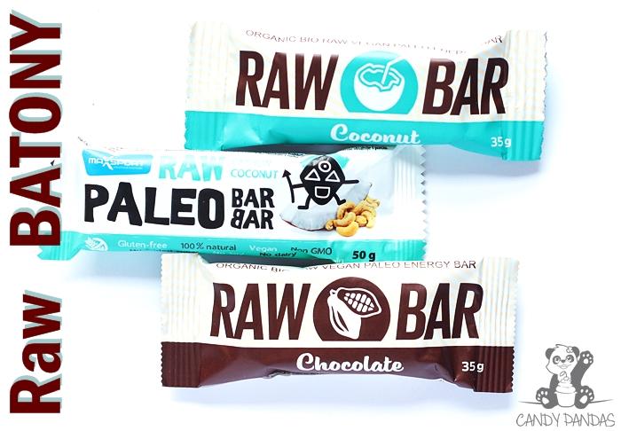 Raw Batony (kokos, czekolada i kokos z nerkowcami) – Raw Bar, Max Sport