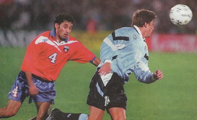 Uruguay y Chile en Clasificatorias a Francia 1998, 20 de agosto de 1997