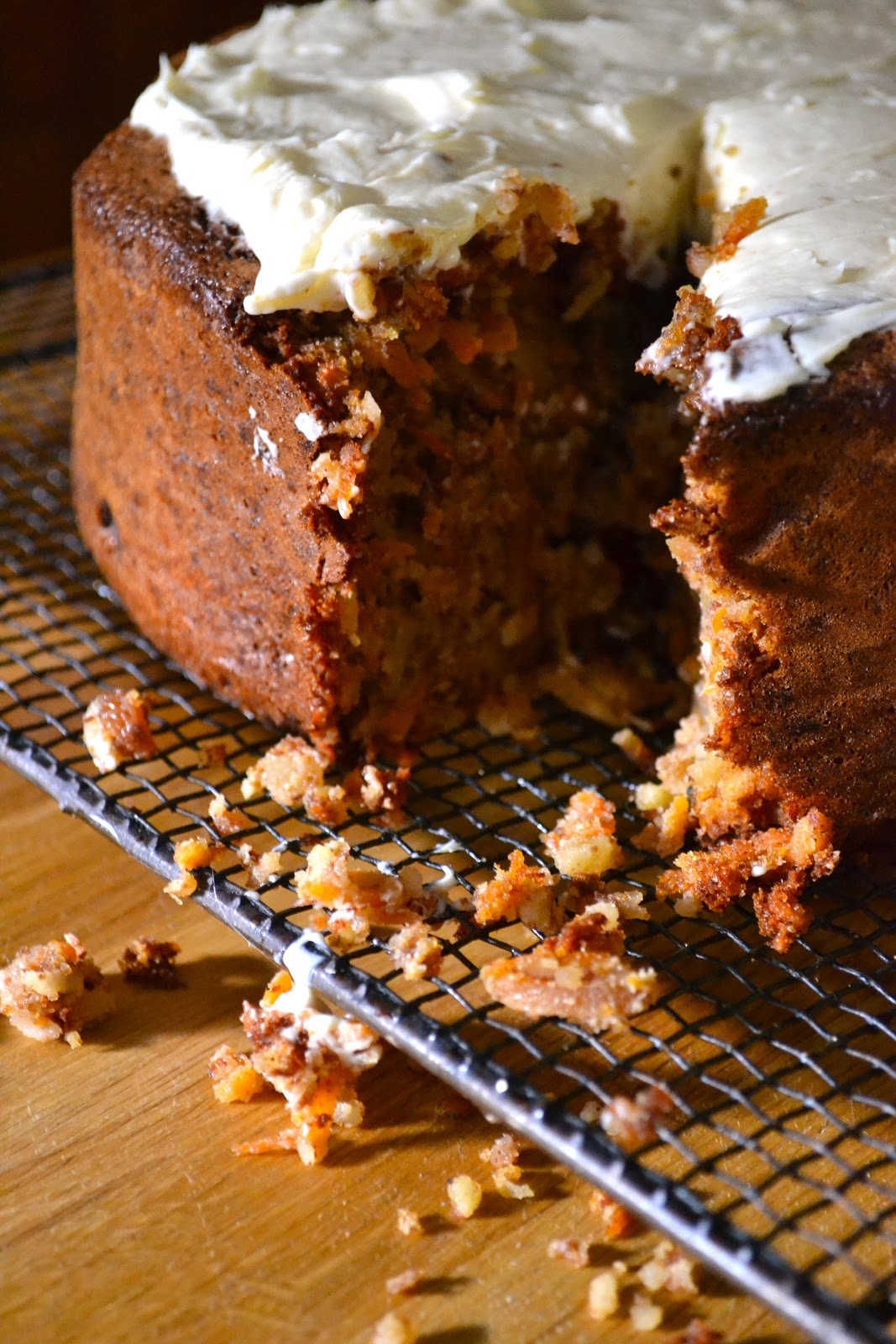 Hide And Go Cook Flourless Carrot Cake