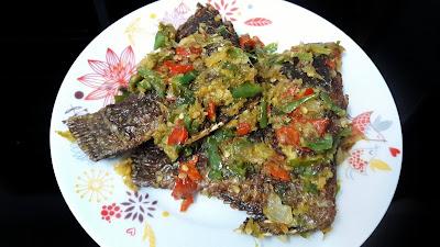 Ikan Talapia Masak Sambal Berlada