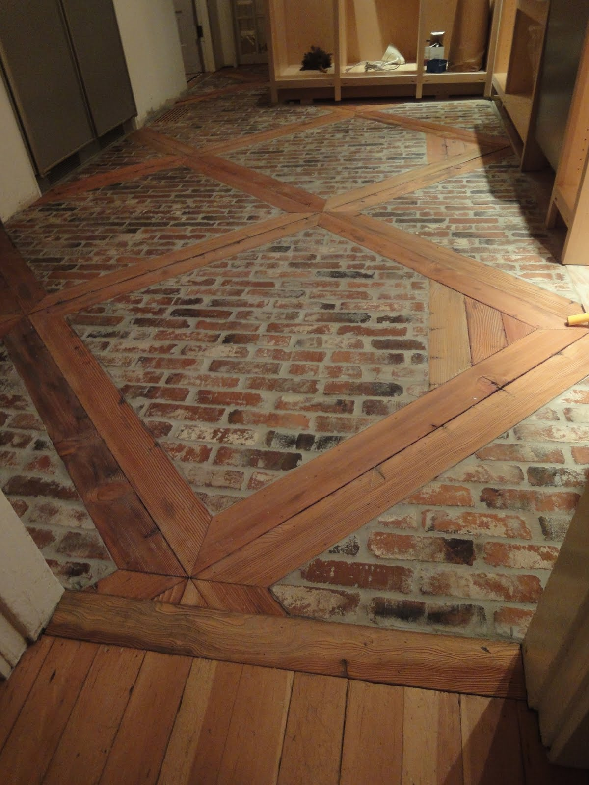 1900 Farmhouse Kitchen Floor