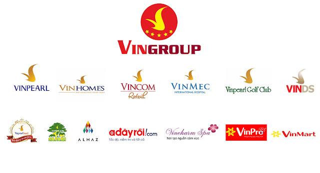 Các thương hiệu của Vingroup