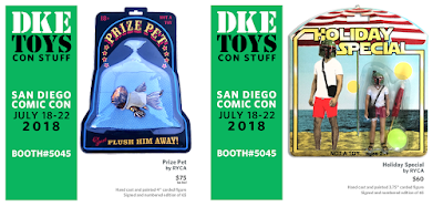 San Diego Comic-Con 2018 Exclusive Star Wars Bootleg Resin Figures by RYCA x DKE Toys