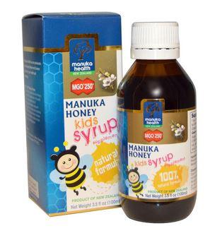 شراب عسل المانوكا للسعال للاطفال