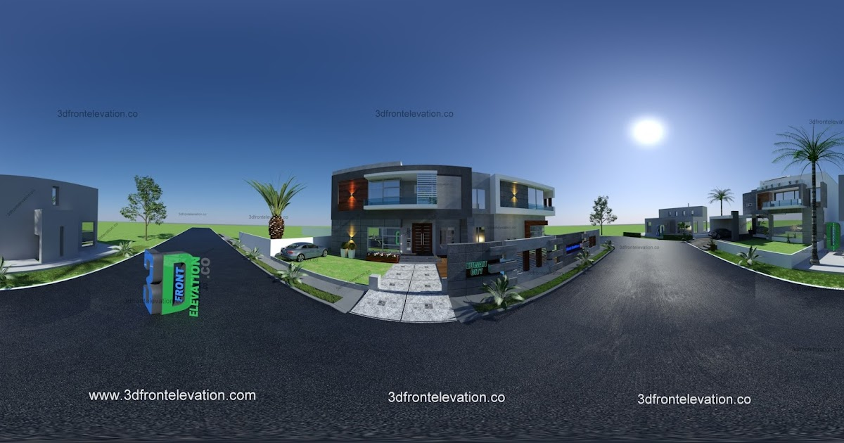3D Front Elevationcom 360