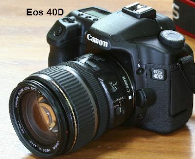 Spesifikasi dan Harga Kamera Canon Eos 40D
