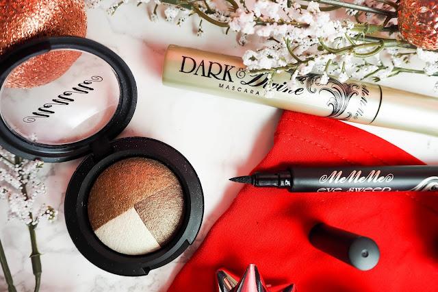 Me Me Me Cosmetics Christmas beauty makeup look