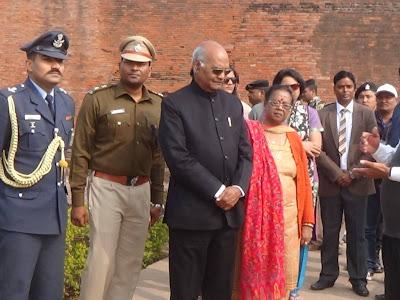 दो दिवसीय दौरे पर बिहार के राज्यपाल नालंदा पहुचे