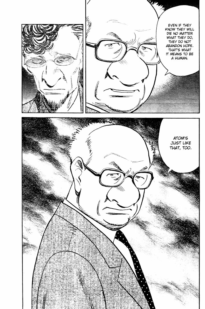 Page 11, Act 64: Sound of the End from Naoki Urasawa's Pluto Volume 8