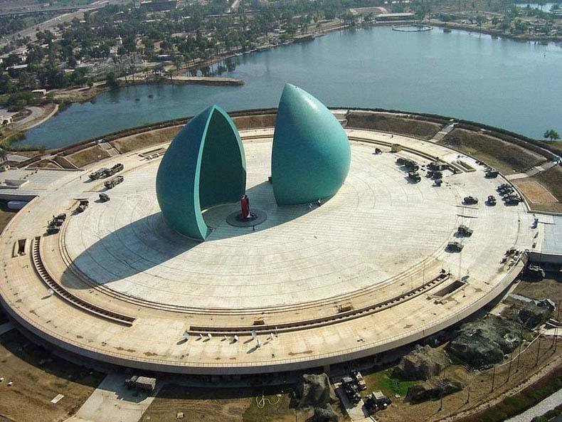 Monumento Al-Shaheed, en Bagdad | Irak