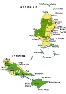 Wallis e Futuna Map
