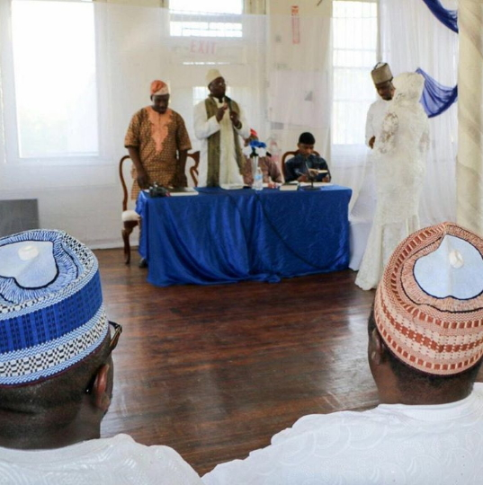tunde owokoniran islamic wedding