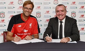 Jurgen Klopp has been appointed Liverpool's new manager on a three-year deal
