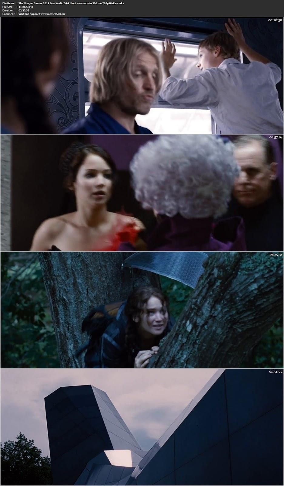 The Hunger Games 2012 Dual Audio ORG Hindi BluRay 720p at movies500.info