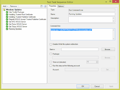Windows Updates during SCCM OSD from Replica WSUS Servers 13