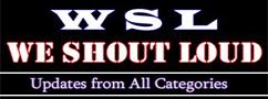 We Shout Loud Logo Image
