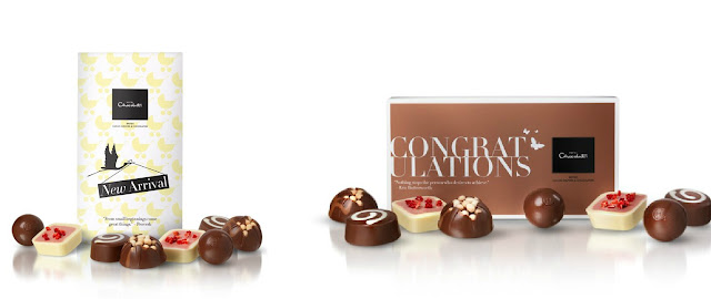 Hotel Chocolat New Baby Gifts, luxury chocolate for mums, royal baby gifts