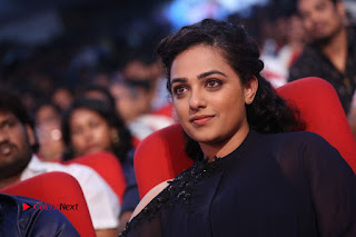 Nithya Menon Latest Stills at at Janatha Garage Movie Audio Launch  0157