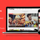 Download  FlexiMag Blogger News Magazine Template