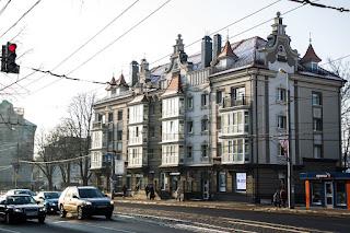 Ленинский проспект, фасад реконструкция, г.Калининград