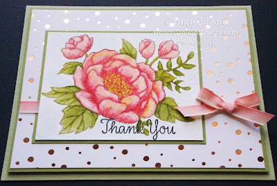 Heart's Delight Cards, Birthday Blooms, No Line Watercolor, Stampin' Up!