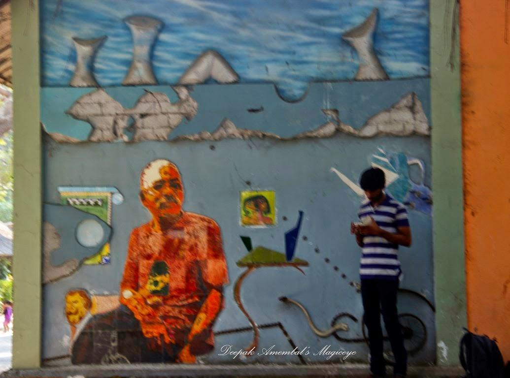 Wall art & Mumbai daily: Wall art