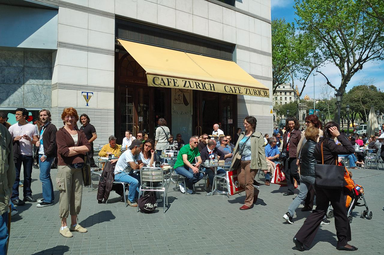 Cafe Zurich, Barcelona
