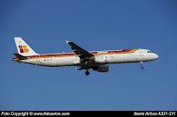 Airbus A321 EC-ITN