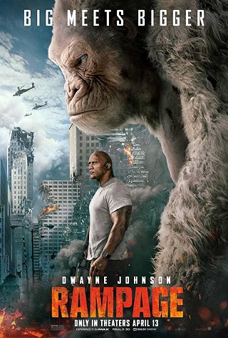 Rampage 2018 Dual Audio Hindi 1GB HDCAM 720p