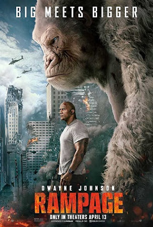 Poster Of Rampage 2018 In Hindi Bluray 720P Free Download