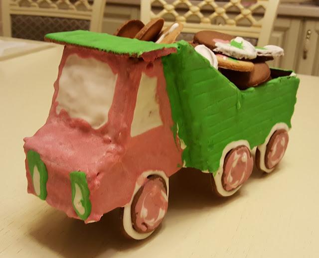 пряничный грузовик