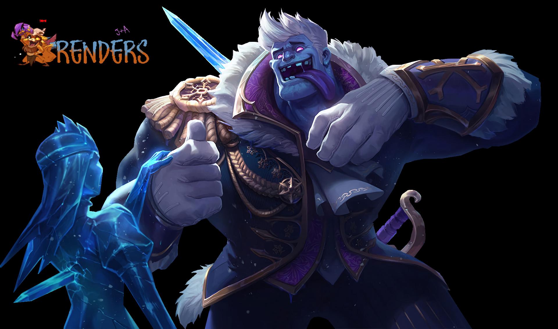 render SKIN Frozen Prince Mundo