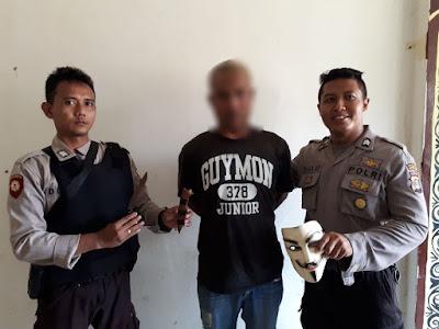 Duh, Bawa Badik Siang Bolong, Pria Ini Diamankan Polisi