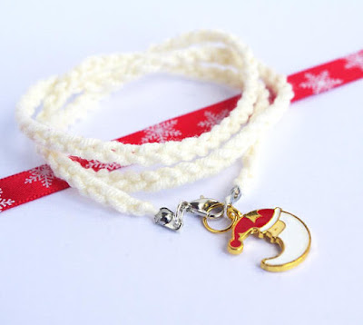 3 strands Christmas bracelet