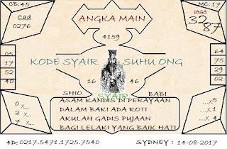 SYAIR SDY, TOGEL SIDNEY, PREDIKSI TOGEL SYDNEY SENIN