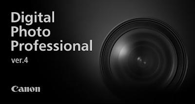 Canon Digital Photo Professional 4.8.20 Software For Windows