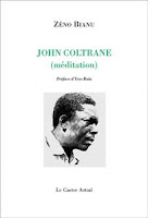 couverture du livre de zeno Bianu, John Coltrane