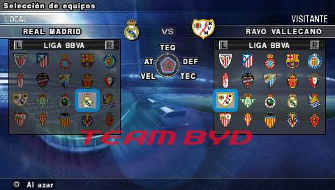 Capturas Pro Evolution Soccer 2012 PSP