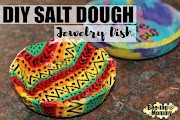 Salt Dough Jewelry Dish