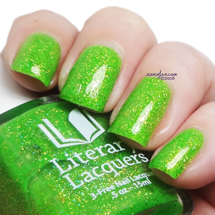 xoxoJen's swatch of Literary Lacquers Long May She Reign