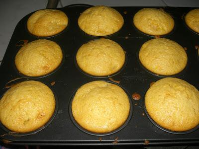Bánh muffin cam 3