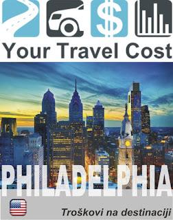 Filadelfija, Pensilvanija, SAD – Troškovi