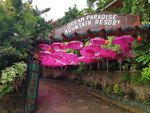 Entrance to Dream Paradise Mountain Resort