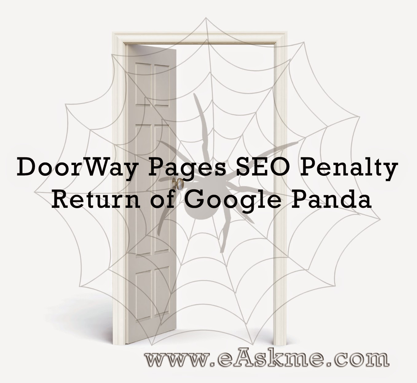DoorWay Pages SEO Penalty – Return of Google Panda : eAskme